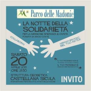 invito solidarietà Castellana Biagio Conte