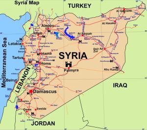 Siria-cartina-mappa
